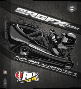 SRGFX BMart Flat Kart Illustration 4