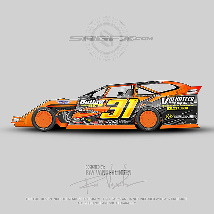 Lincoln Epps 2012 Dirt Modifed