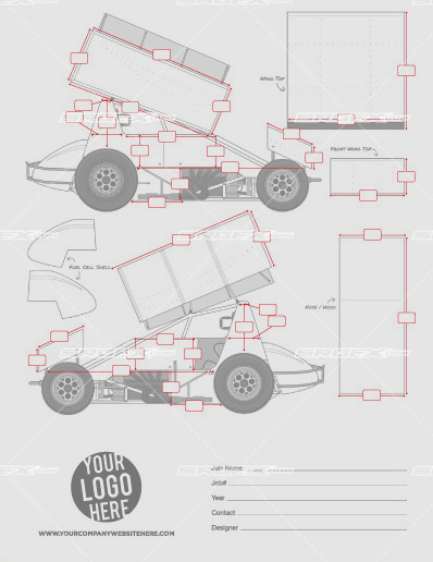 Sprint Car Template