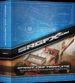 SRGFX Vector Sprint Car Template
