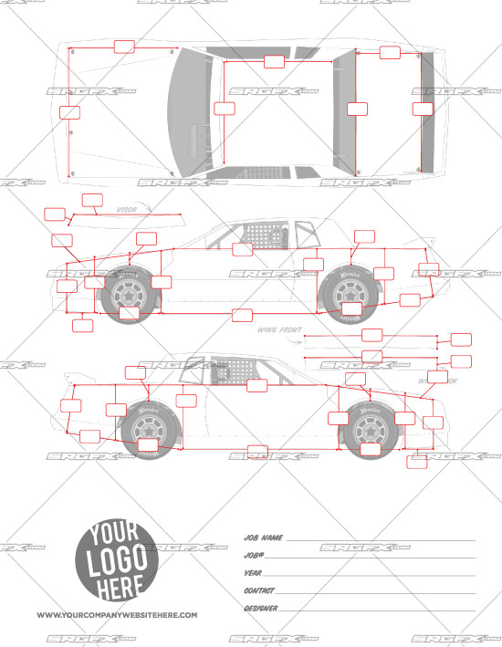 Street stock template 1 school of racing graphics for Race car graphic design templates
