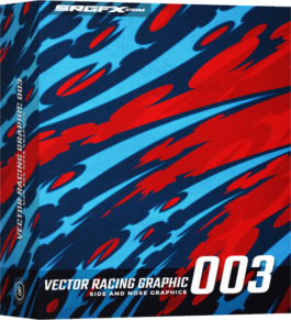 SRGFX Vector Racing Graphic 003 Box