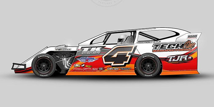 Thomas McBride 2012 Dirt Modified