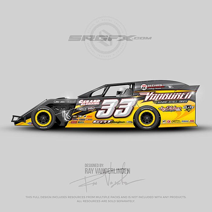 Vector Racing Graphics Pack 1 | School of Racing Graphics