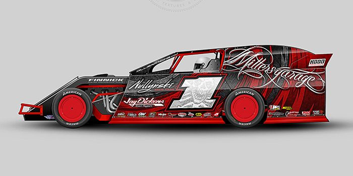 Rustin Miller 2012 Dirt Modified