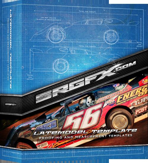 SRGFX Dirt Late Model Template Box