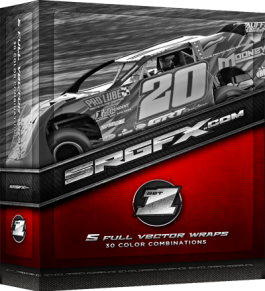 SRGFX Vector Racing Graphics Pack 1