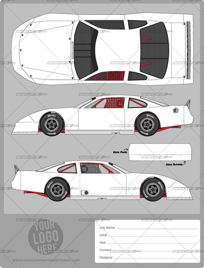 Build Your Own Race Car Wrap
