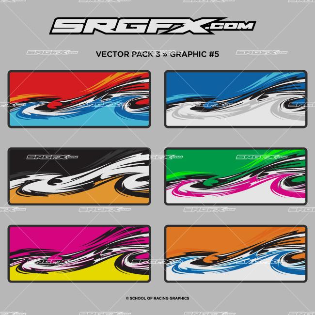 vector pack 3 | school of racing graphics