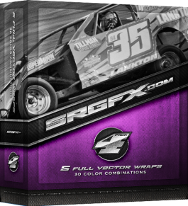 SRGFX Vector Racing Graphics Pack 4