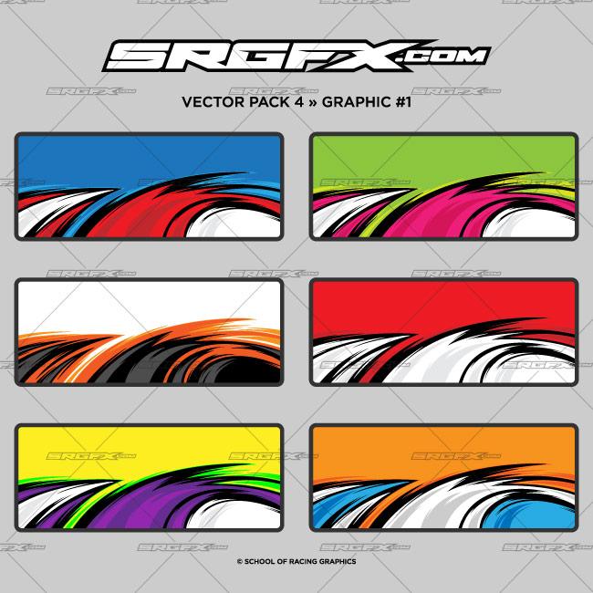 Vector Racing Graphics Pack 4 Srgfx Com