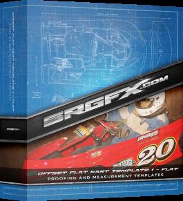 Offset Flat Kart Template - Flat Body