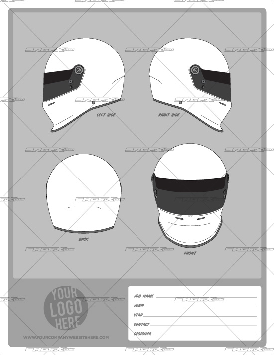 helmet template pack 1 school of racing graphics