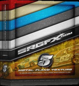 SRGFX Texture Pack 3 - Metal Flake Box