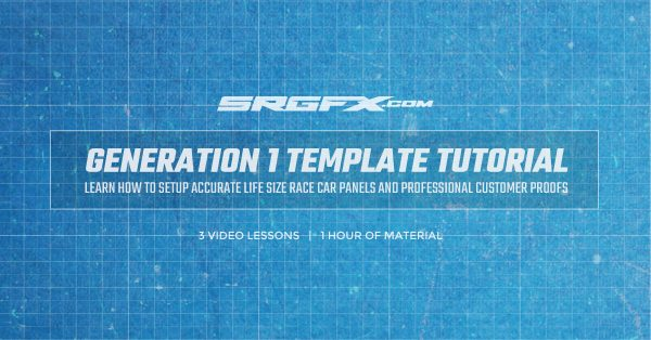 SRGFX Generation 1 Race Car Template Tutorial