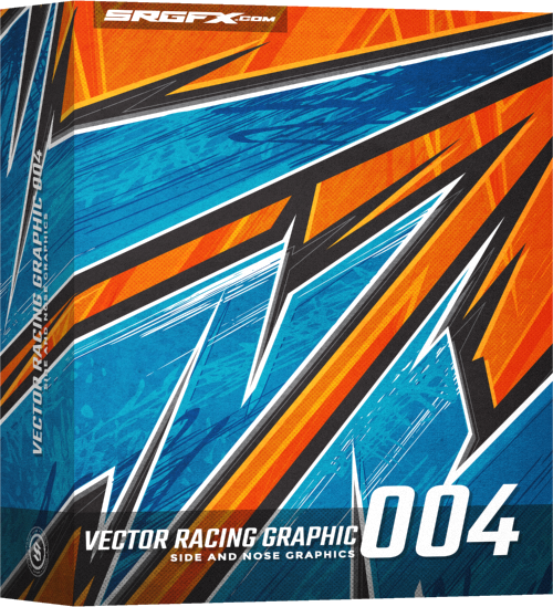 SRGFX Vector Racing Graphic 004 Box