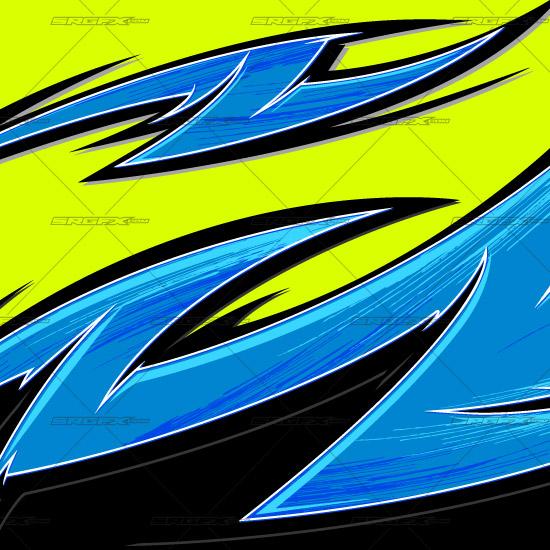 Vector Single 012 School Of Racing Graphics