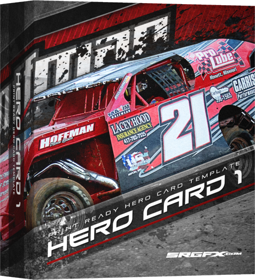 SRGFX Hero Card Template 1