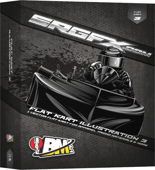 SRGFX BMart Flat Kart Illustration 3
