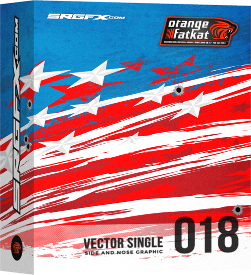 SRGFX RA Vector Racing Graphic Single 018