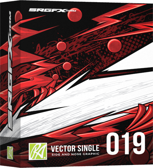 vector single racing graphic 019 | srgfx