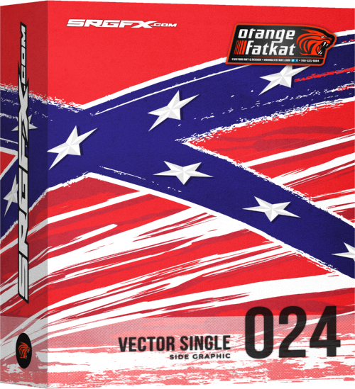 SRGFX OFK Vector Single 024 - Rebel Flag