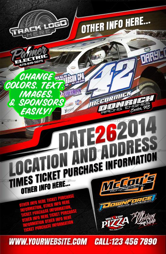 racing event poster template 2 srgfx com