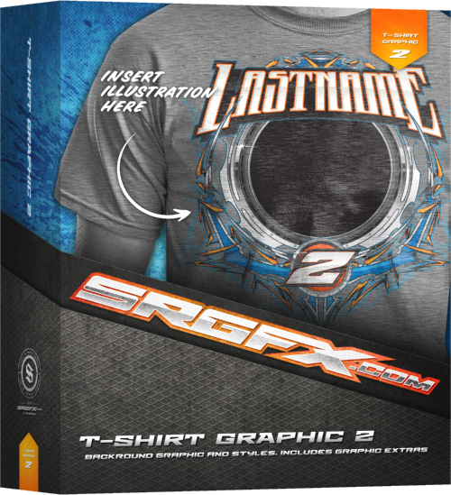SRGFX T-Shirt Racing Vector Graphics 2
