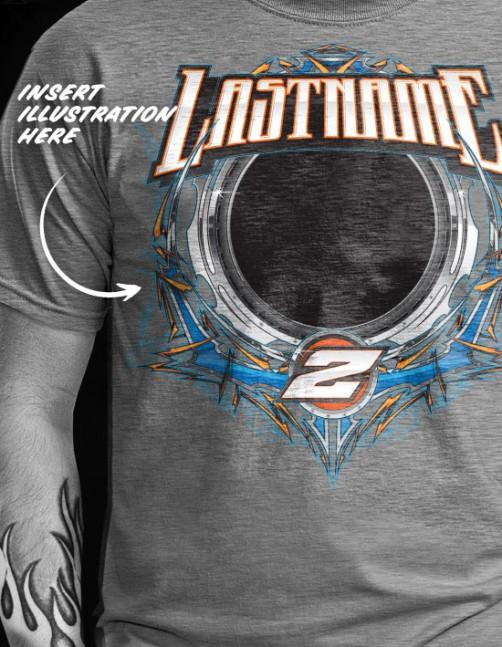 SRGFX T-Shirt Racing Vector Graphics 2