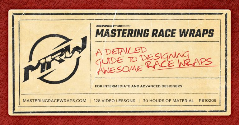 Mastering Race Wraps - A video course for designing awesome race wraps!