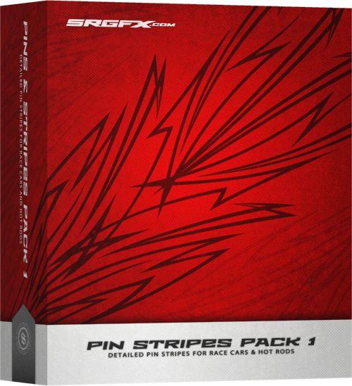 SRGFX Pin Stripes Pack 1 Box