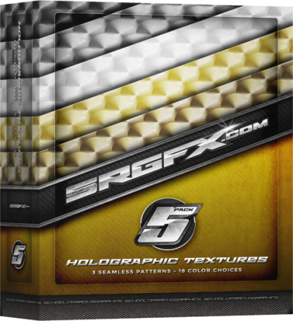 SRGFX Texture Pack 5 Holographic Box