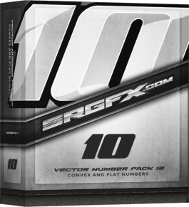 SRGFX Number Pack 10 Box