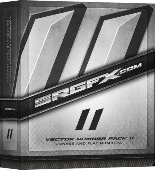 SRGFX Number Pack 11 Box