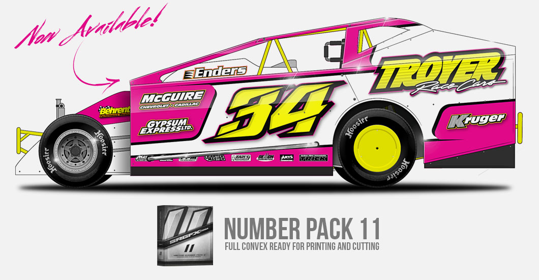 Vector Number Pack 11