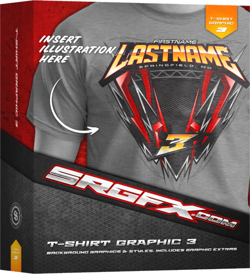 T-Shirt Racing Graphic 3 Box