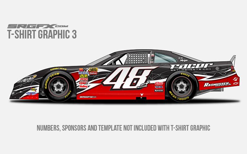 race car graphic design templates - t shirt racing graphic 3