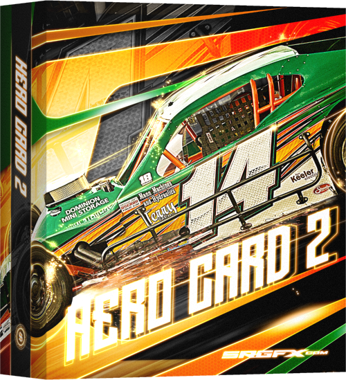 SRGFX Hero Card Template 2 Box