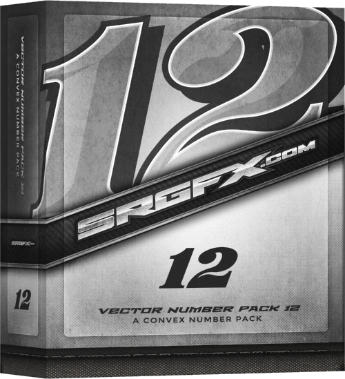SRGFX Number Pack 12 Box