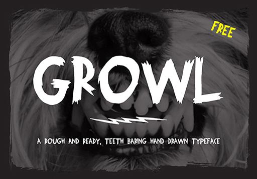 growl-free-font