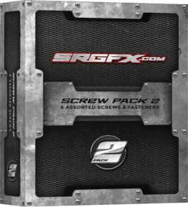 SRGFX Screws, Rivets and Fasteners Box