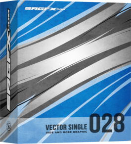 Vector Racing Graphic 028