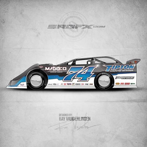 2016 Tipton Dirt Late Model
