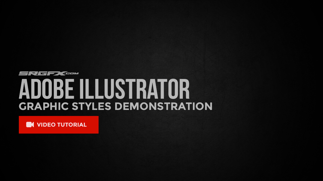 Adobe Illustrator Graphic Styles Video Tutorial