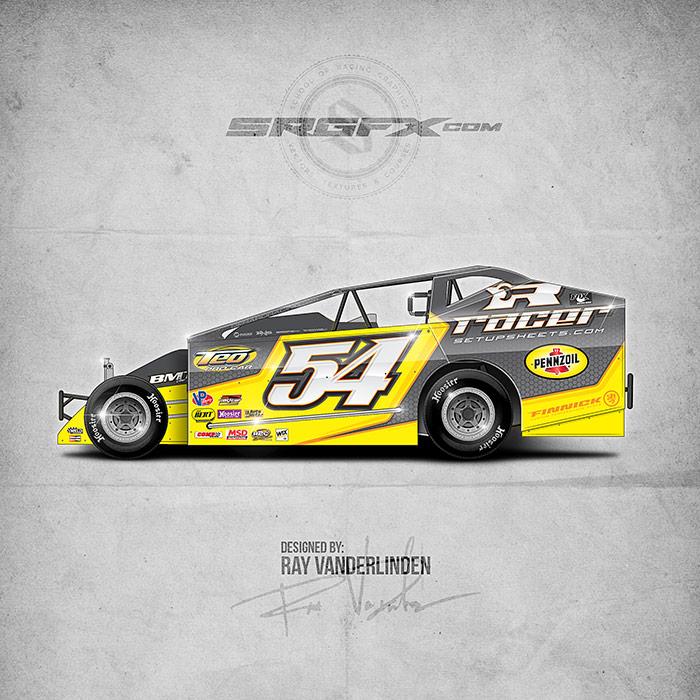 Racer Setup Sheets 2016 Big Block Modified | School of Racing Graphics