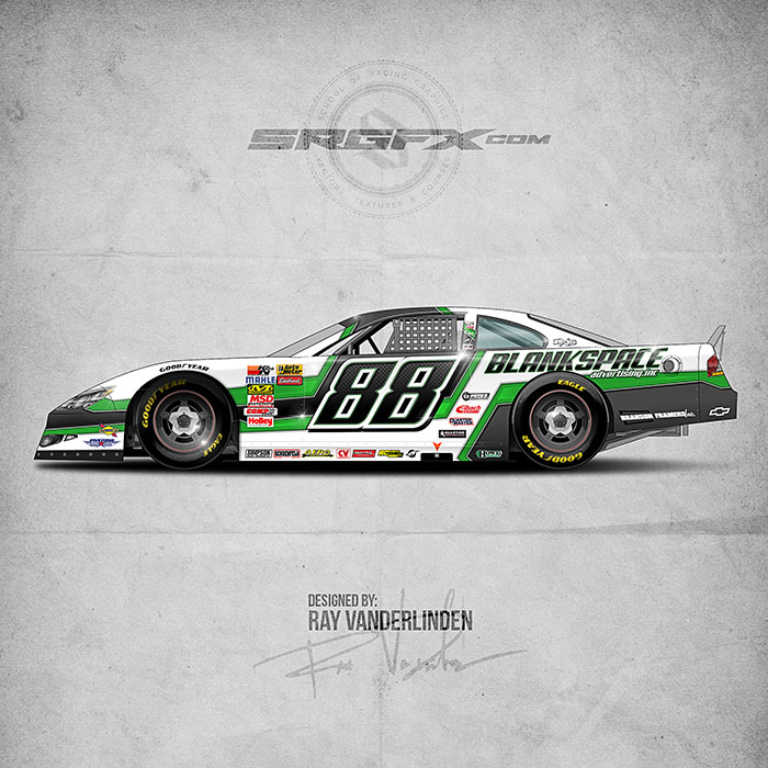 SRGFX Vector Racing Graphics Pack 9 Graphic 1 Example