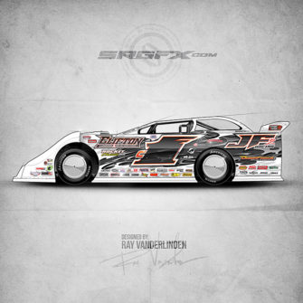 SRGFX Vector Racing Graphics Pack 9 Graphic 2 Example