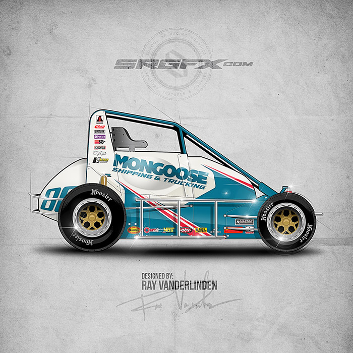 SRGFX Vector Racing Graphics Pack 9 Graphic 3 Example