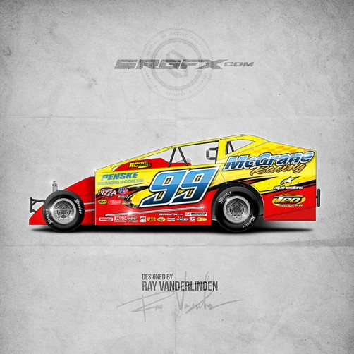 SRGFX Vector Racing Graphics Pack 9 Graphic 4 Example