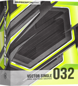 SRGFX Vector Racing Graphic Single 032